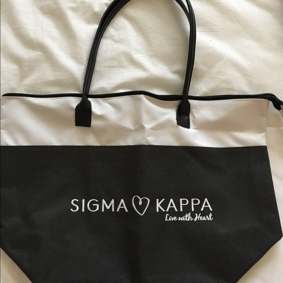 5a1cd41c68 Bags | Sigma Kappa Sorority Tote Bag | Poshmark